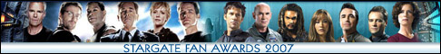Link to Stargate Fan Awards - 2007